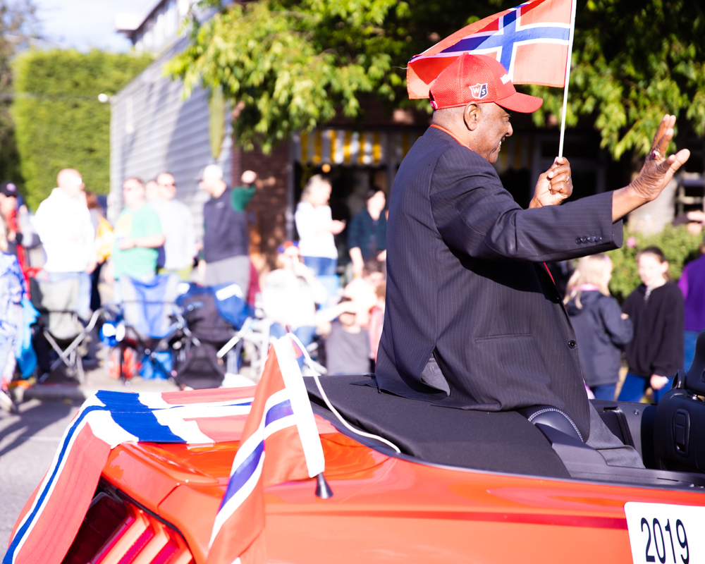 Willie C. Stewart in 2019 Parade